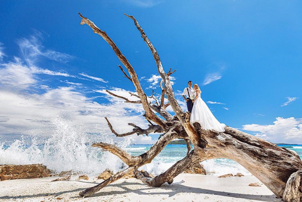 Hochzeit Seychellen La Digue