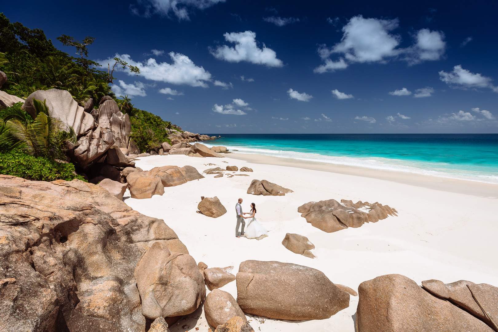 Wedding Seychelles La Digue