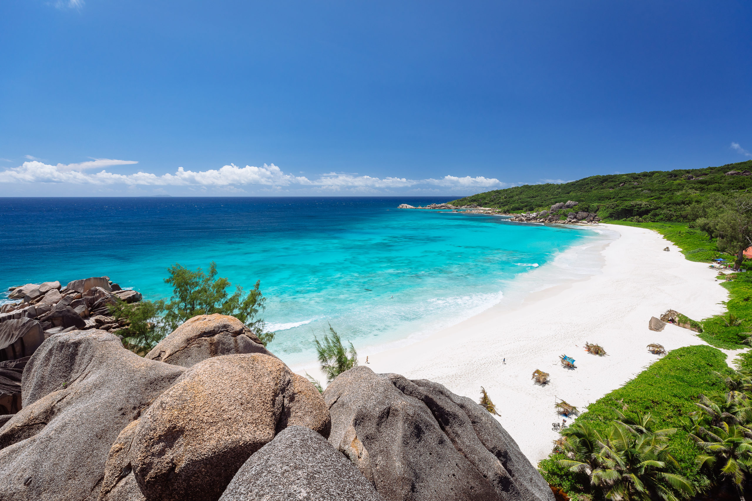 La Digue, Grand Anse